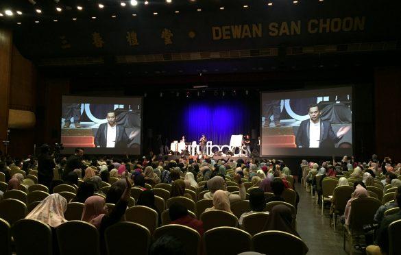 Keadaan dalam dewan masa Sifu Jamal beri talk