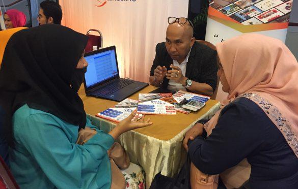 Abg Zali kita busy bgtau peserta2 betapa pentingnya website