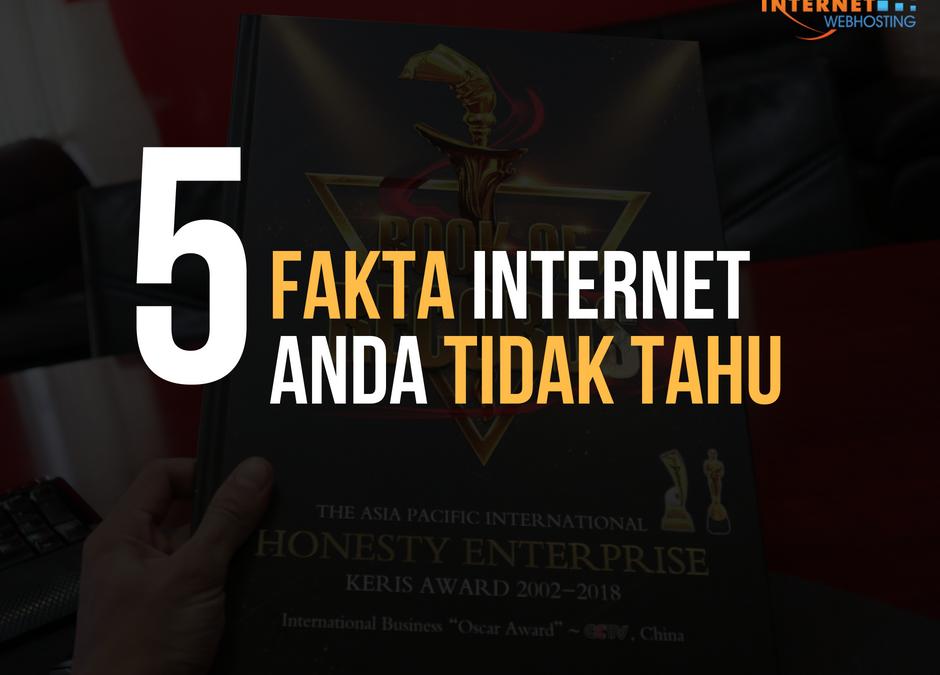 5 Fakta Internet Yang Anda Tidak Tahu!