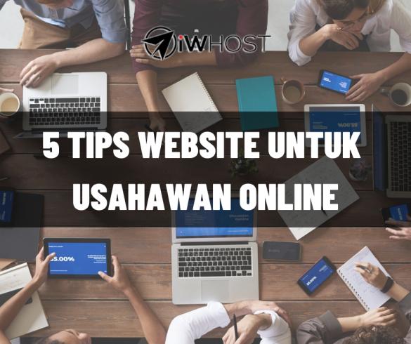 5 tips site usahawan online