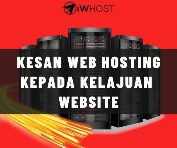 kesan web hosting on speed