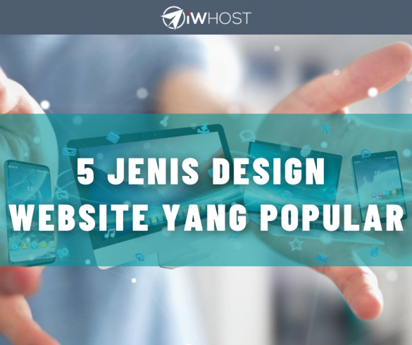 5 jenis design website yang popular